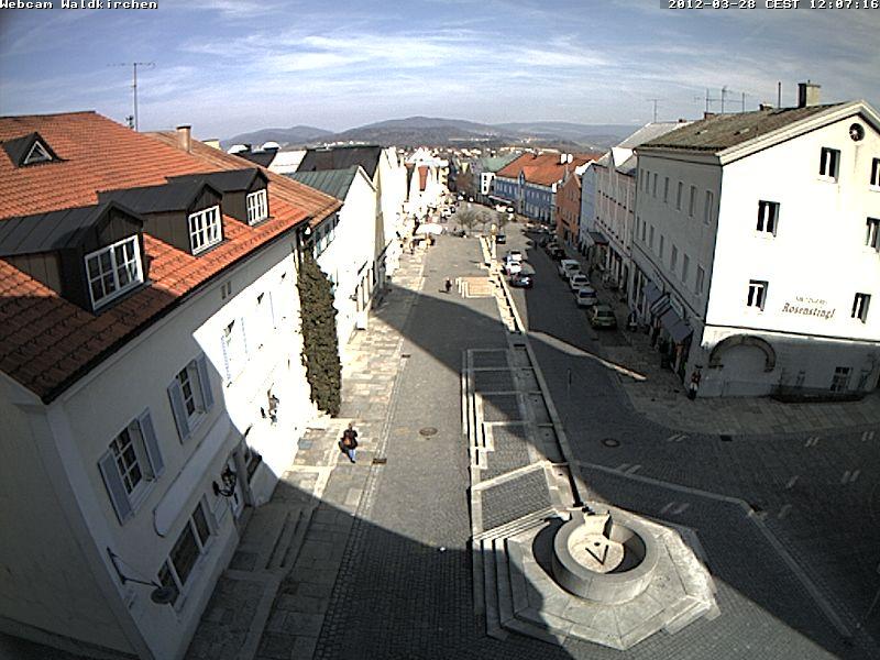 Waldkirchen City Center, Marktplatz